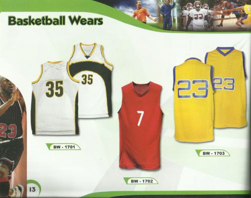 Basketball Wears