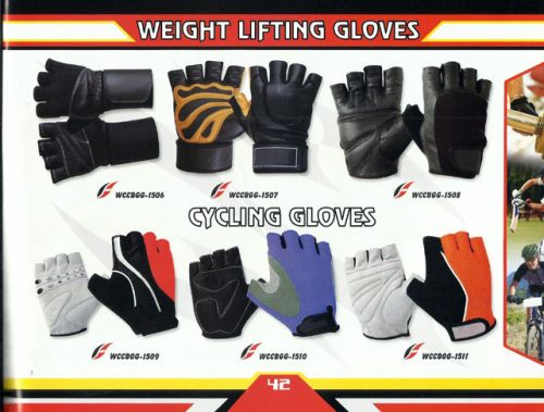 Weight Lifting Gloves and Cycling Gloves