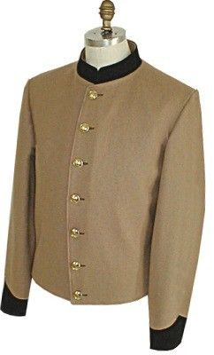 Tan Butternut Black Collar & Cuffs Enlisted/NCO